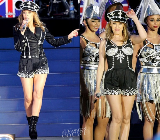 Kylie Minogue in Emilio Pucci | The Queen's Diamond Jubilee Concert