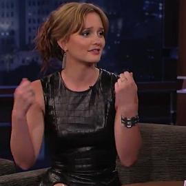 Leighton Meester in Cushnie et Ochs | 'Jimmy Kimmel Live'