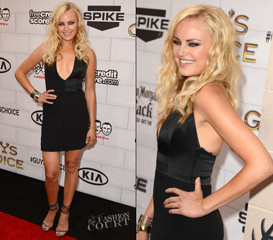 Malin Akerman in Emporio Armani | Spike TV's Guys Choice Awards 2012