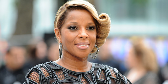 Mary J. Blige in Catherine Malandrino | 'Rock of Ages' London Premiere