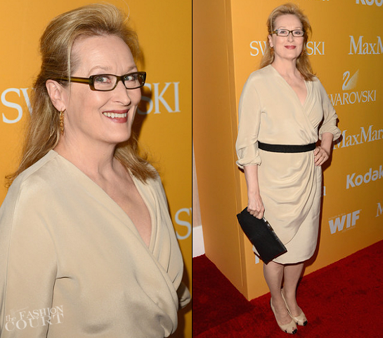 Meryl Streep in MaxMara | Women In Film Crystal + Lucy Awards 2012