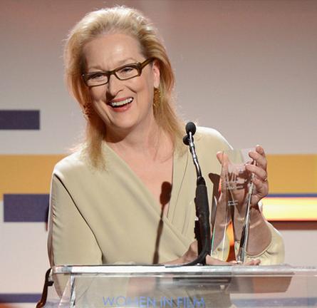 Meryl Streep in MaxMara | Women In Film Crystal + Lucy Awards 2012