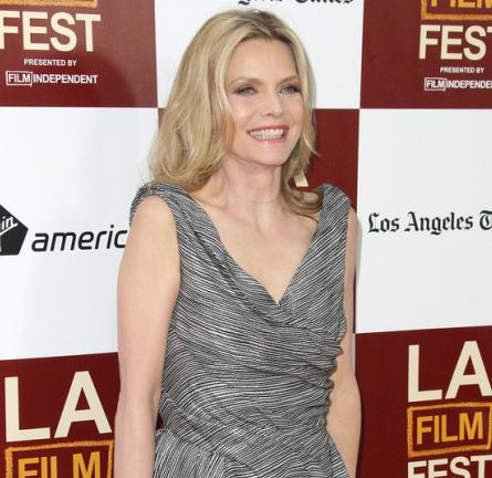 Michelle Pfeiffer in Christian Dior | 'People Like Us' 2012 LA Film Festival Premiere