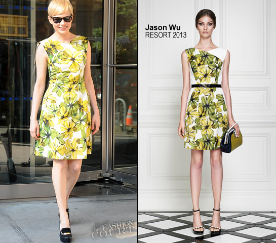 Michelle Willians in Jason Wu | CBS 'This Morning'