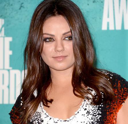 Mila Kunis in Fendi   2012 MTV Movie Awards