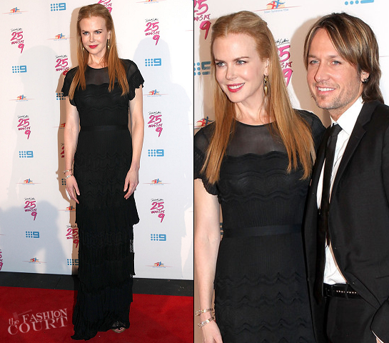 Nicole Kidman in Christian Dior | Richard Wilkins 25 Year Anniversary Fundraiser For Down Syndrome