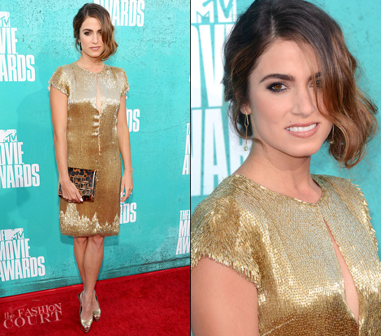 Nikki Reed in Randi Rahm | 2012 MTV Movie Awards