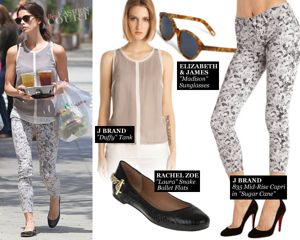 Ashley Greene in J Brand | Tender Greens in West Hollywood