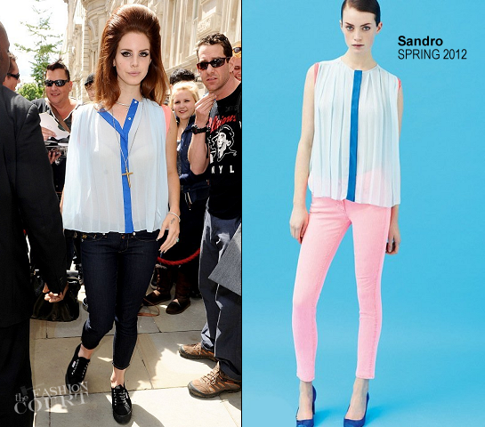 Lana Del Rey in Sandro | Radio 1's Hackney Weekend