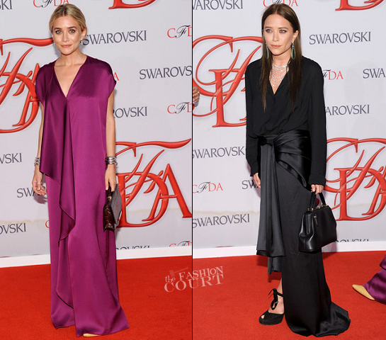 Ashley Olsen & Mary-Kate Olsen in The Row | 2012 CFDA Fashion Awards