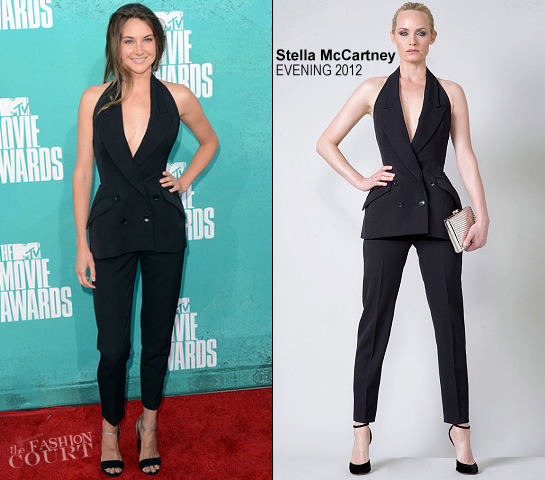 Shailene Woodley in Stella McCartney | 2012 MTV Movie Awards