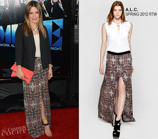 Sophia Bush in A.L.C. | 'Magic Mike' 2012 LA Film Festival Premiere