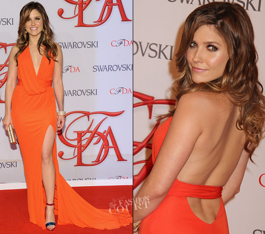Sophia Bush in David Meister | 2012 CFDA Fashion Awards