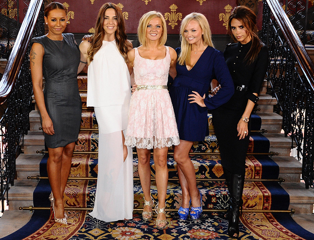 The Spice Girls Reunite for 'Viva Forever' Press Launch