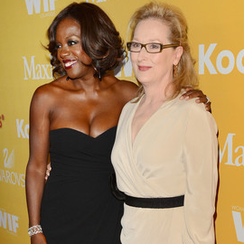 Viola Davis in MaxMara | Women In Film Crystal + Lucy Awards 2012