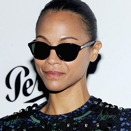 Zoe Saldana in Louis Vuitton | Persol Magnificent Obsessions: 30 Stories Of Craftmanship In Film Event