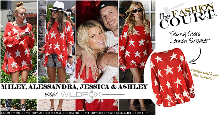 Independence Day Style: Hollywood Is 'Seeing Stars' in Wildfox Couture!