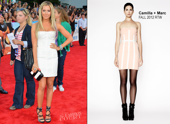 Ashley Tisdale in Camilla & Marc | 'Step Up Revolution' Hollywood Premiere