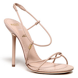 Bally Strappy Sandals - Spring 2012
