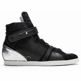 Barbara Bui Fall 2012 High Top Leather Sneakers