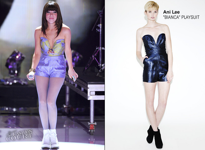 Carly Rae Jepsen in Ani Lee | 2012 Teen Choice Awards