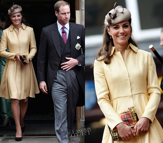 Catherine, Duchess of Cambridge in Emilia Wickstead | 2012 Thistle Ceremony