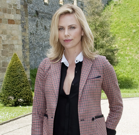 Charlize Theron in Boy. by Band of Outsiders | 'Snow White and the Huntsman' Arundel Press Conference