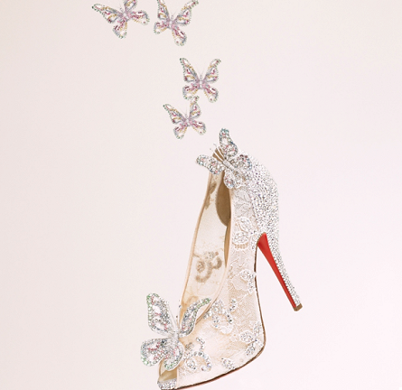 Christian Louboutin Teams Up with Disney to Create Modern-Day Cinderella Glass Slipper