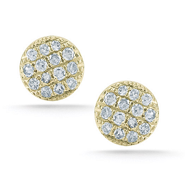 Dana Rebecca Lauren Joy Mini Diamond Stud Earrings