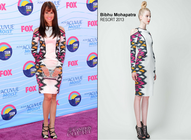 Debby Ryan in Bibhu Mohapatra | 2012 Teen Choice Awards