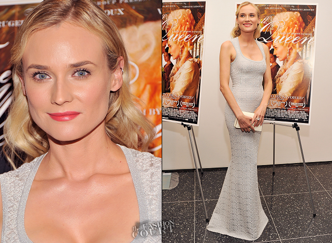 Diane Kruger in Azzedine Alaïa | 'Farewell, My Queen' NYC Screening