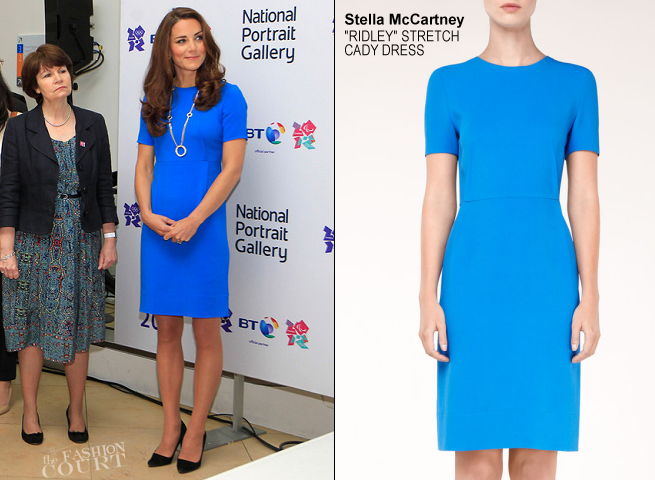 Catherine, Duchess of Cambridge in Stella McCartney | 'Road To 2012: Aiming High' Exhibition Visit