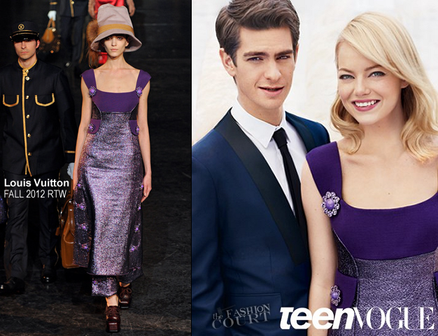 Two 4 One: Emma Stone & Andrew Garfield Cover Teen Vogue's August Issue!