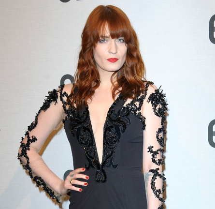 Florence Welch in Julien Macdonald | Britain Creates 2012: Fashion & Art Collusion