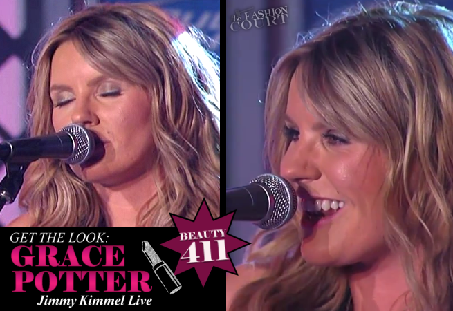 Get The Look: Grace Potter Rocks 'Jimmy Kimmel Live'!