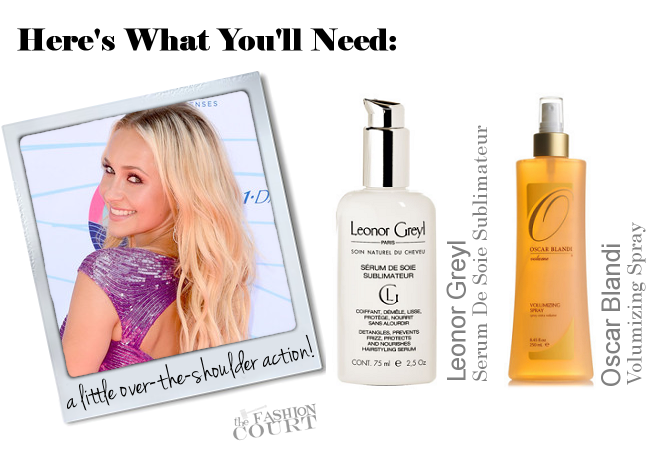Get The Look: Hayden Panettiere's Playful Bohemian Chic Waves at the Teen Choice Awards