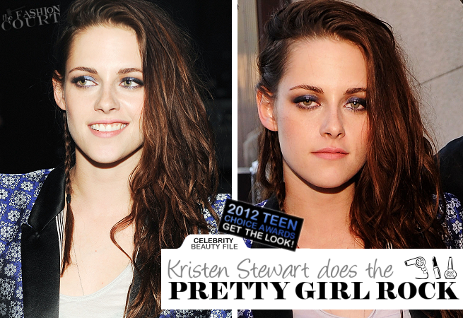 Get The Look: Kristen Stewart - Teen Choice Awards 2012