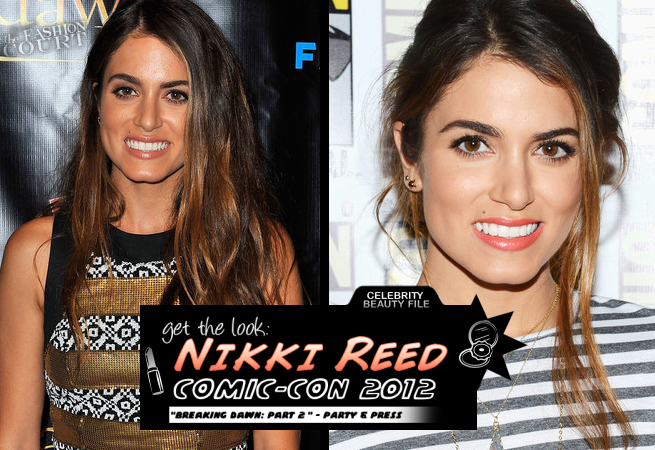 Get The Look: Comic-Con 2012 - Nikki Reed's Sunkissed Nude and Tropical Melon Lips!