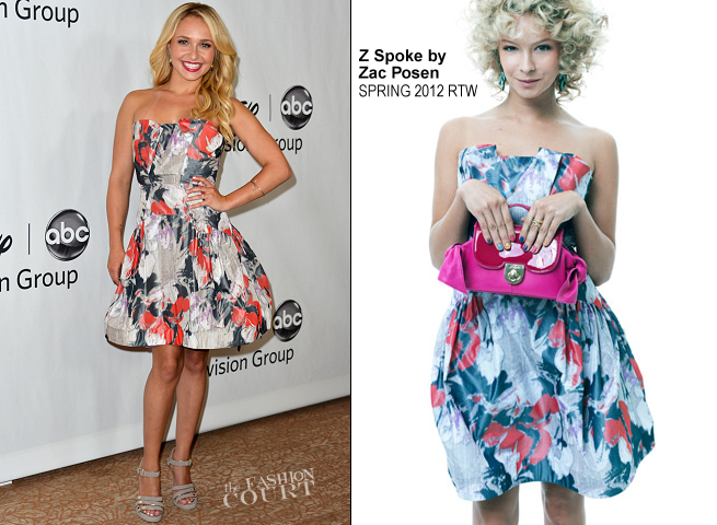 Hayden Panettiere in Z Spoke by Zac Posen | Disney ABC 2012 TCA Summer Press Tour Party