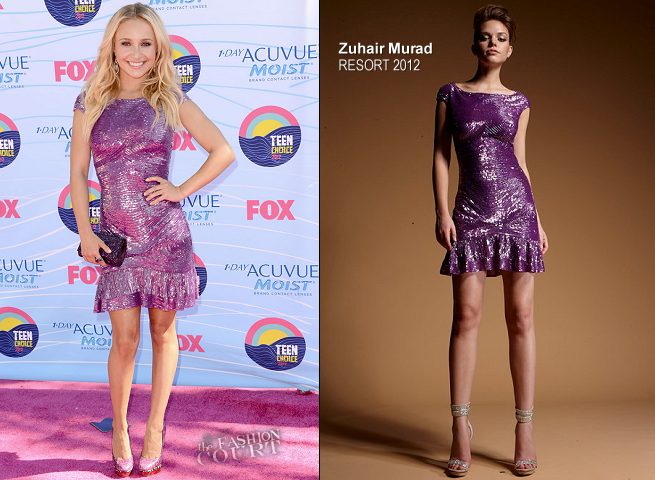 Hayden Panettiere in Zuhair Murad | 2012 Teen Choice Awards