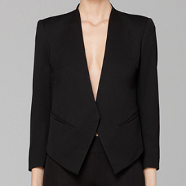 Helmut Lang Smoking Wool Tuxedo Jacket