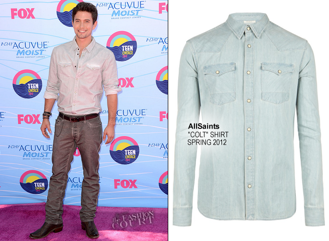 Jackson Rathbone in AllSaints & John Varvatos | 2012 Teen Choice Awards