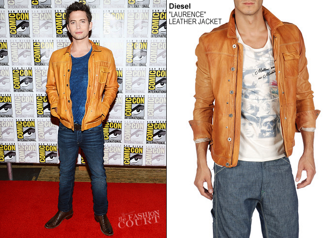 Jackson Rathbone in Diesel | Comic-Con 2012: 'The Twilight Saga: Breaking Dawn - Part 2'