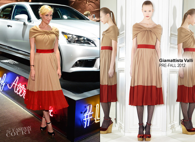 Jaime King in Giambattista Valli | Lexus 'Laws of Attraction' Exhibit
