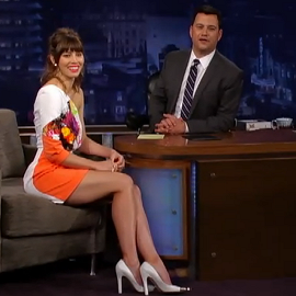 Jessica Biel in Preen | 'Jimmy Kimmel Live'