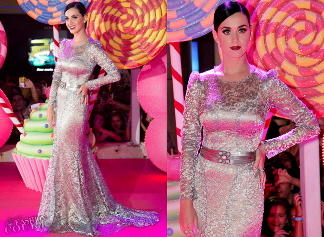 Katy Perry in Dolce & Gabbana | 'Katy Perry: Part Of Me' Rio de Janeiro Premiere