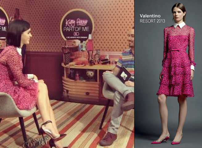 Katy Perry in Valentino | 'Katy Perry: Part Of Me' Rio de Janeiro Press Junket