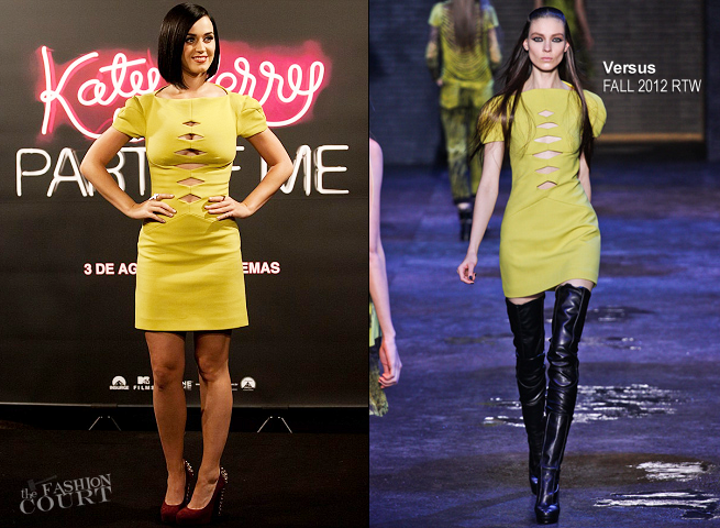 Katy Perry in Versus | 'Katy Perry: Part Of Me' Rio De Janeiro Photocall