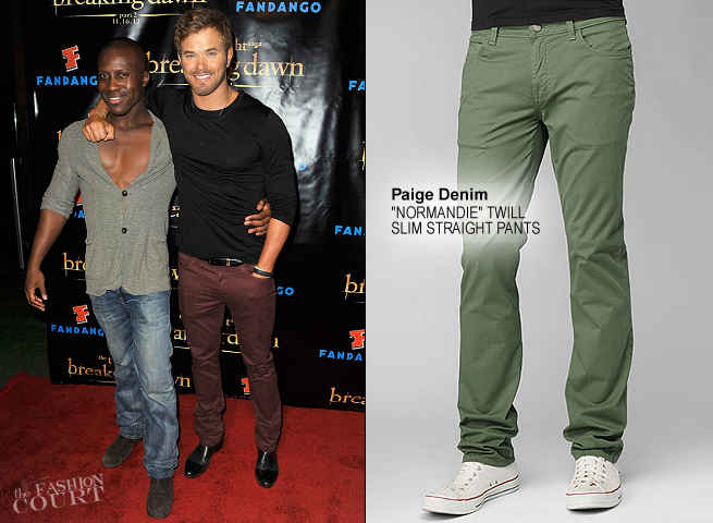 Kellan Lutz in Paige Denim | 'The Twilight Saga: Breaking Dawn Part 2' VIP Comic-Con Celebration