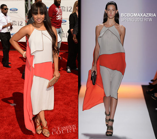 Kyla Pratt in BCBG Max Azria | 2012 BET Awards